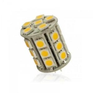 LED žárovka 5,4W 27xSMD5050 G4 450lm 12V DC NEUTRÁLNÍ
